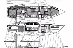 47' Gulfstar 47 Sailmaster 1979 Specification sheet