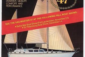 47' Gulfstar 47 Sailmaster 1979 Brochure