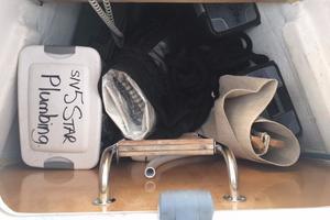 49' Beneteau 49 2008 Forward sail locker through hatch in fore deck