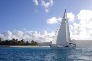 49' Beneteau 49 2008 Sailing in the lee of a Caribbean island