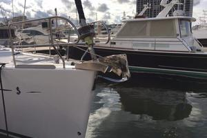 49' Beneteau 49 2008 Stainless plow anchor on the bow