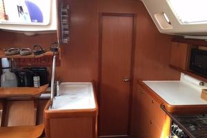 49' Beneteau 49 2008 Beneteau OC49 Door to the pantry and small pilot berth