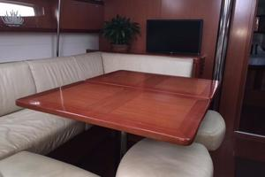 49' Beneteau 49 2008 Opened dining table room for 6