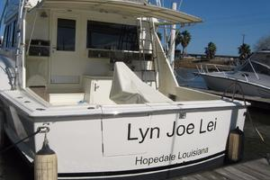 55' Hatteras Convertible 1985 Transom