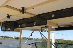 55' Hatteras Convertible 1985 Bridge Electronics & Storage