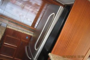 55' Hatteras Convertible 1985 Fridge