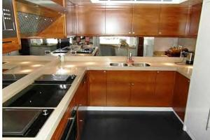 105' Majesty Yachts 105 2014 Galley