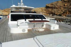 105' Majesty Yachts 105 2014 Bow Seating