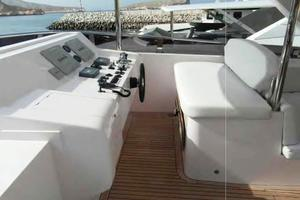 105' Majesty Yachts 105 2014 Flybridge Helm