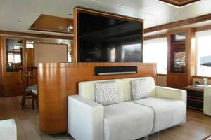 105' Majesty Yachts 105 2014 Saloon Forward
