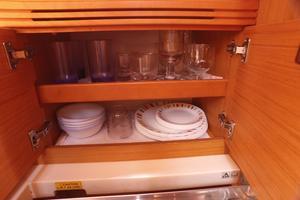 42' Jeanneau Sun Odyssey 42 Ds 2009 Galley Storage