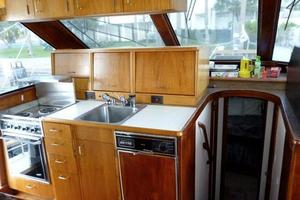 48' Ocean 48 Motor Yacht 1989 Galley & VIP Access