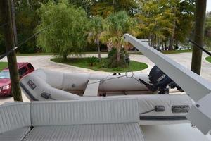 48' Ocean 48 Motor Yacht 1989 Davit & Tender