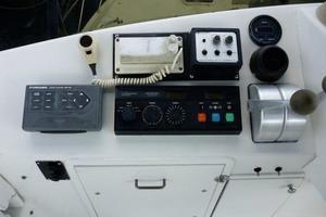 48' Ocean 48 Motor Yacht 1989 Helm Console - portside