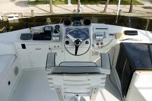 48' Ocean 48 Motor Yacht 1989 Flybridge Helm