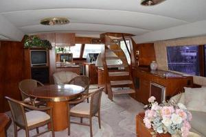 48' Ocean 48 Motor Yacht 1989 Salon - looking forward