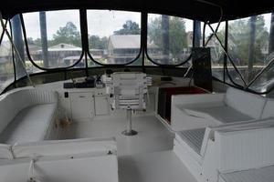 48' Ocean 48 Motor Yacht 1989 Flybridge - Bimini & Curtains
