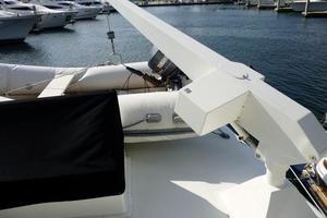 48' Ocean 48 Motor Yacht 1989 Davit