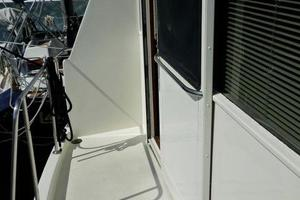 48' Ocean 48 Motor Yacht 1989 Aft Deck - Port Side