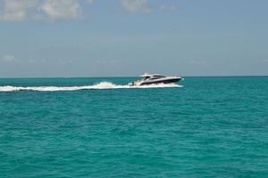 54' Savannah Hinckley Express Cruiser 2008 Starboard Running