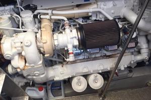 54' Savannah Hinckley Express Cruiser 2008 Starboard Engine