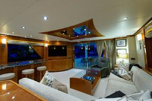 101' Hargrave  2010 Main Salon Looking Aft