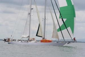 75' Naval Yachts Schooner 1980 Afternoon Sail