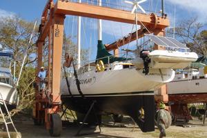 75' Naval Yachts Schooner 1980 Underbody