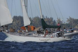 75' Naval Yachts Schooner 1980 Moving in a breeze