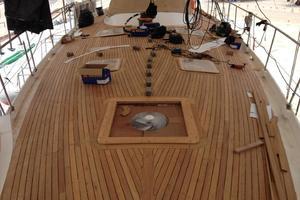 75' Naval Yachts Schooner 1980 Epoxy Glued Teak Decks