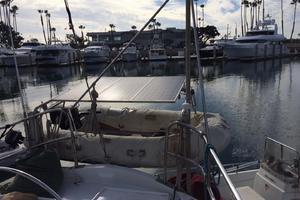 75' Naval Yachts Schooner 1980 Dinghy on Davits