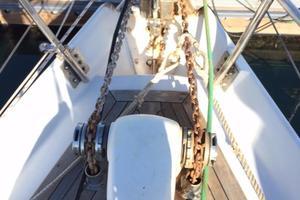 75' Naval Yachts Schooner 1980 Walking out bowsprit