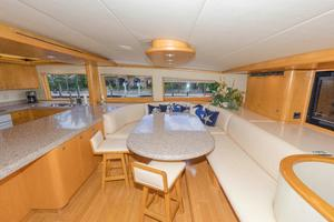 102' Crescent Motor Yacht 1991 Galley