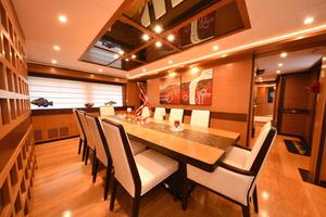 127' Iag Motor Yacht 2010 Formal Dining