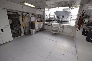 127' IAG Motor Yacht 2010 Tender Garage