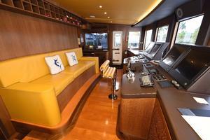 127' IAG Motor Yacht 2010 Pilothouse