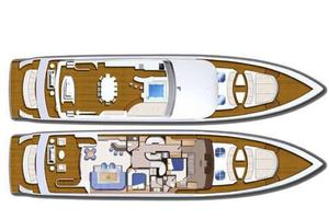 127' Iag Motor Yacht 2010 General Arrangement