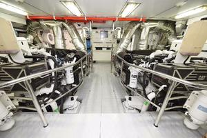 127' Iag Motor Yacht 2010 Engine Room