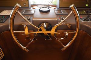 127' IAG Motor Yacht 2010 Pilothouse Helm