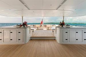180' Newcastle 5500 Series 2011 Main Aft Deck