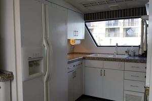 74' Hatteras Series 60 Cpmy 1988 Galley