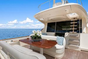 74' Mochi Craft Motor Yacht 2006 74' Mochi Craft Aft Deck