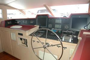 108' Broward Motor Yacht 1995 Pilothouse