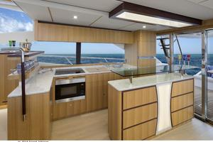 60' Dyna Dyna Craft 60-11 2015 Galley