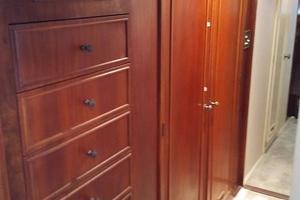 61' Huckins Atlantic 1965 Master Stateroom Closet