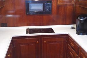 61' Huckins Atlantic 1965 Galley