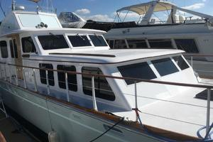 61' Huckins Atlantic 1965 Main Deck