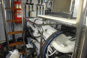 62' Selene Selene 62 2008 Engine Room