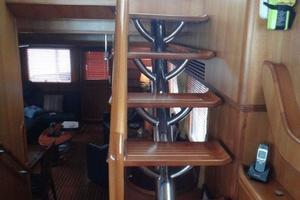 62' Selene Selene 62 2008 Interior access to F/B