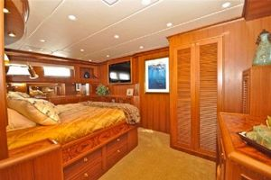 64' Out Island Trawler 2015 Master Stateroom